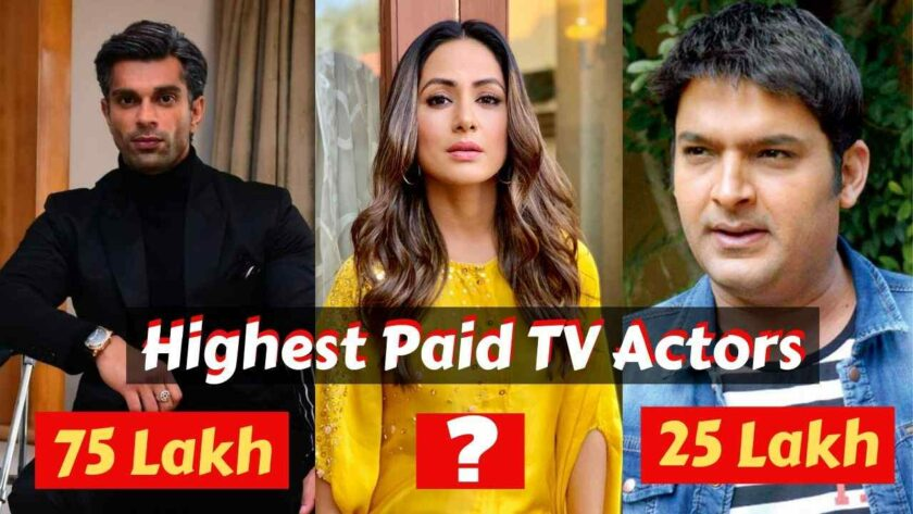 Highest paid television actors