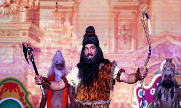 Manoj Tiwari as parashurama