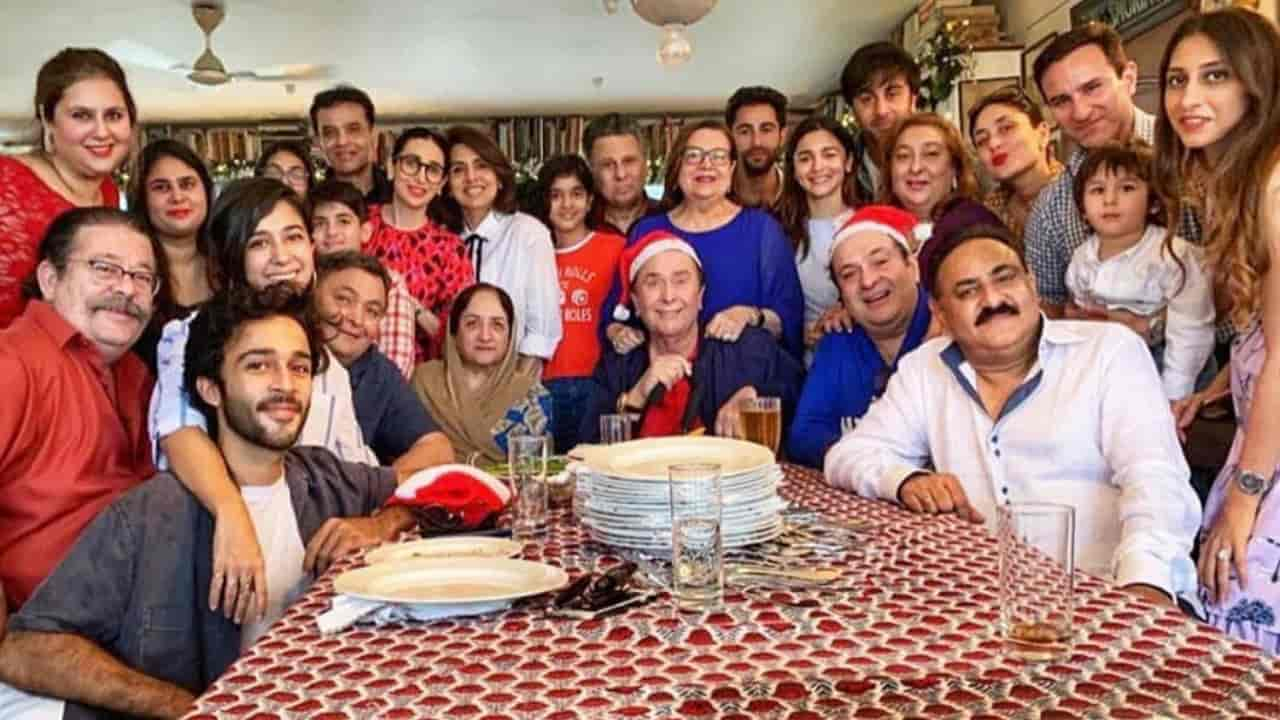 Kapoor family lunch