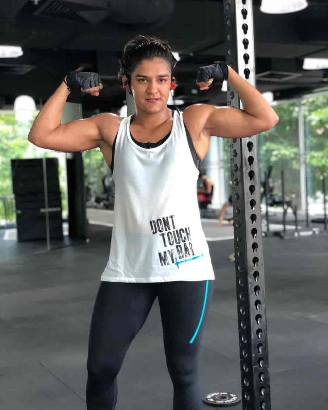 Ritu Phogat Workout