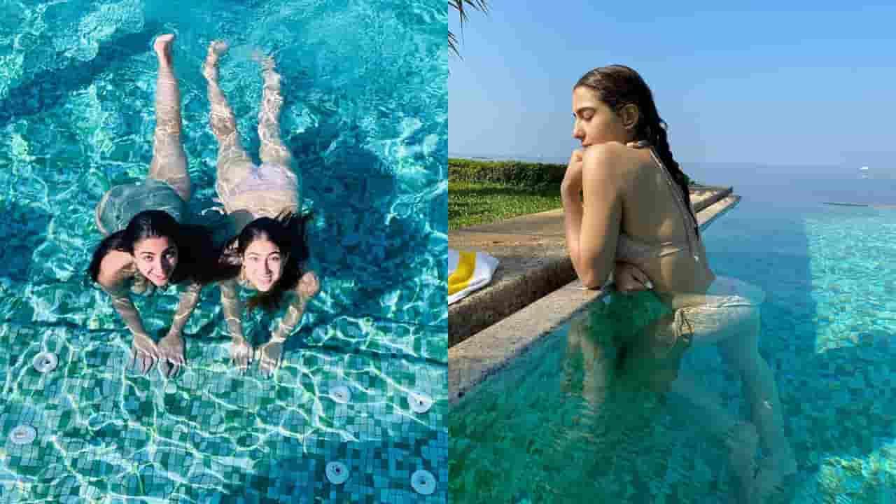 Sara ALi Khan on vacations