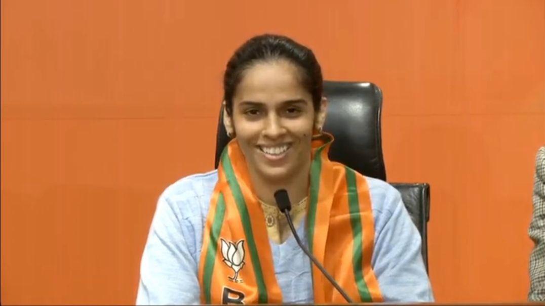 saina nehwal join BJP