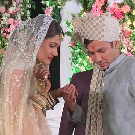 Anjali Merchant weds Aman