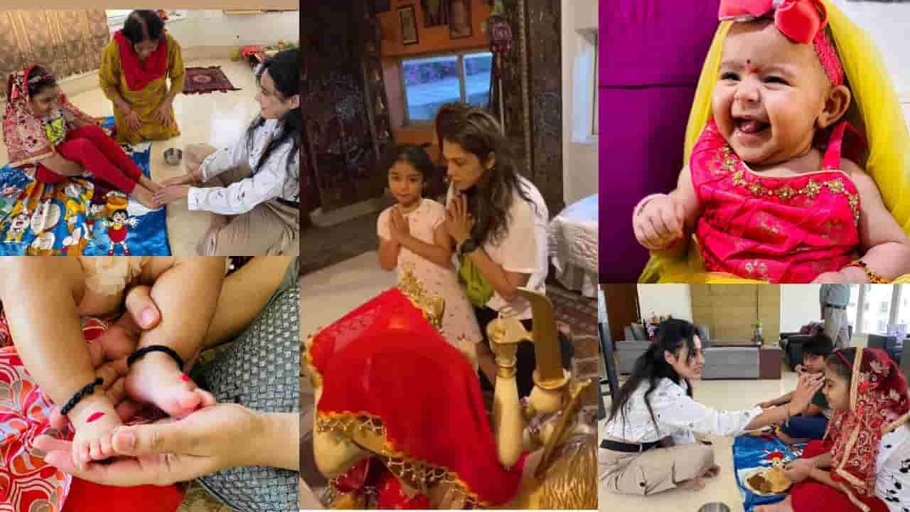 Bollywood celebs durga puja