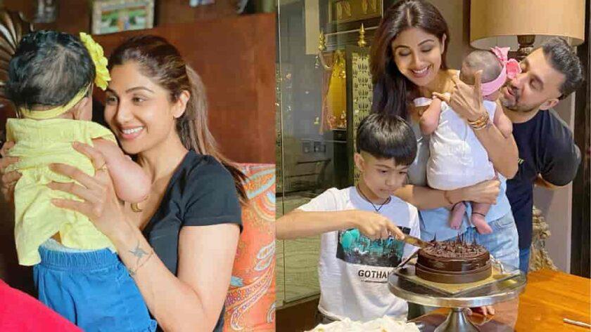 Shilpa Shetty Daughter Samisha