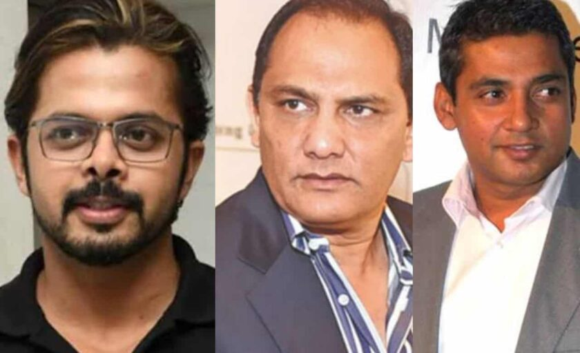 Indian cricketers who involved in match fixing