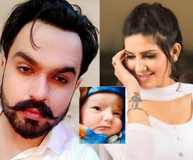 Sapna chodhary's baby