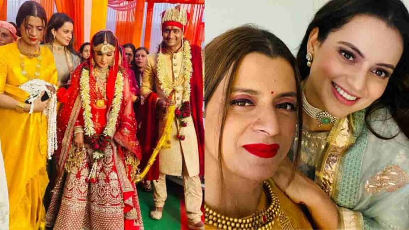 Kangana Ranaut brother marriage