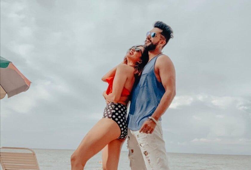 Real life couple kishwer Merchant and Suyyash Rai