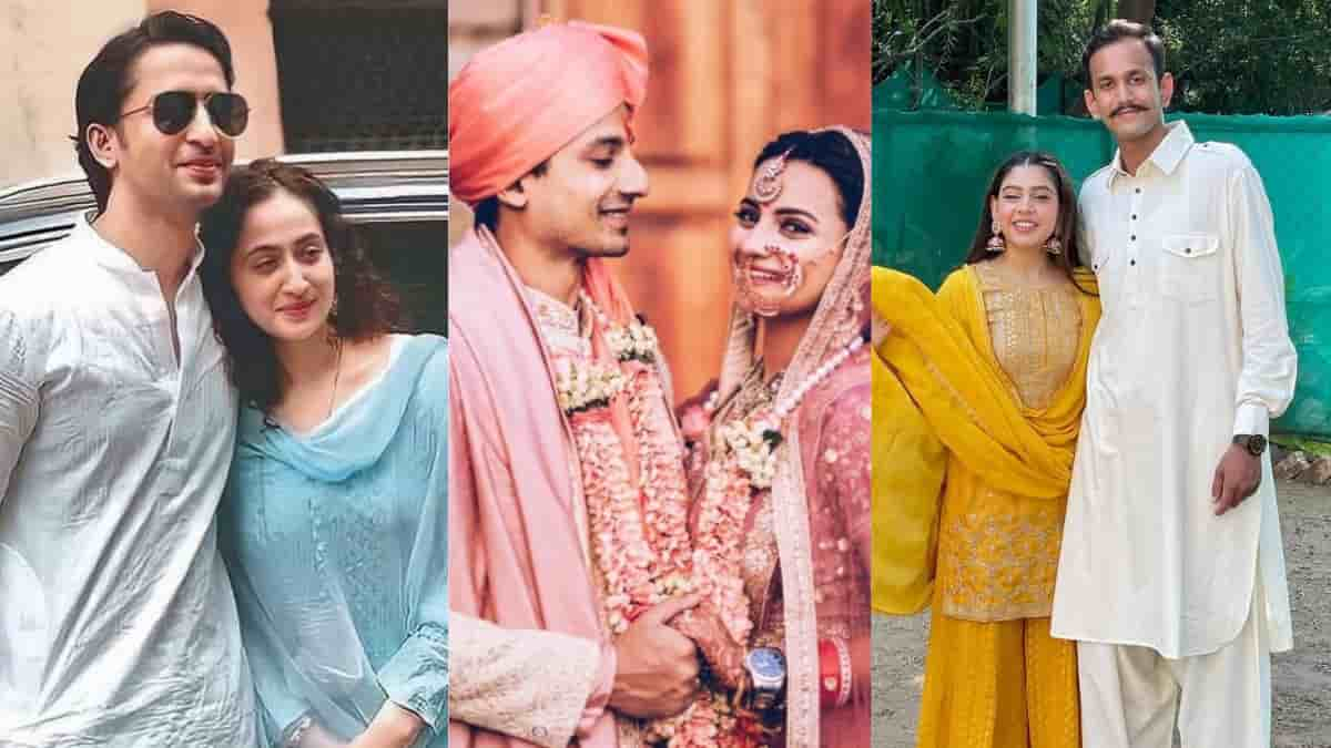 These 10 television celebs married during the Covid epidemic