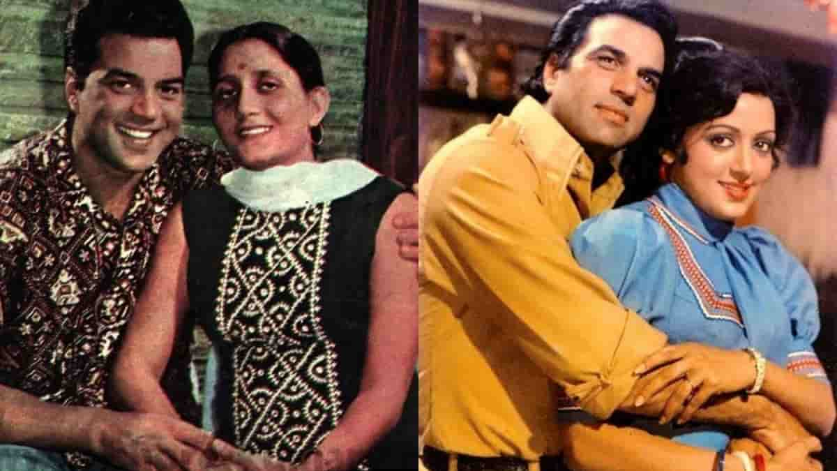 Dharmendra lives alone in the farm house away from both wives