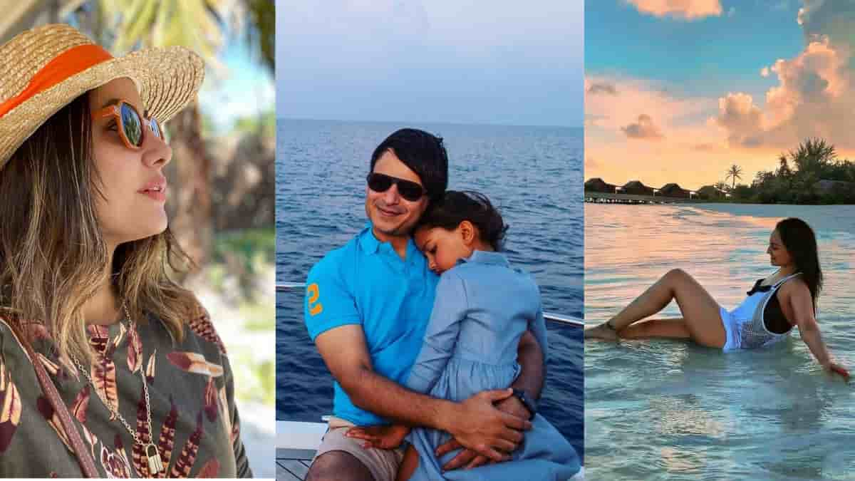 Hina Khan to Sonakshi Sinha these celebrities are enjoying holiday in Maldives