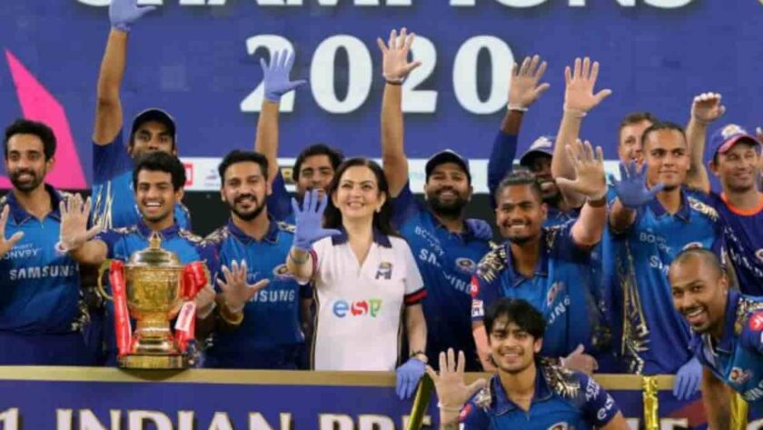 Mumbai Indians won the IPL title for the fifth time