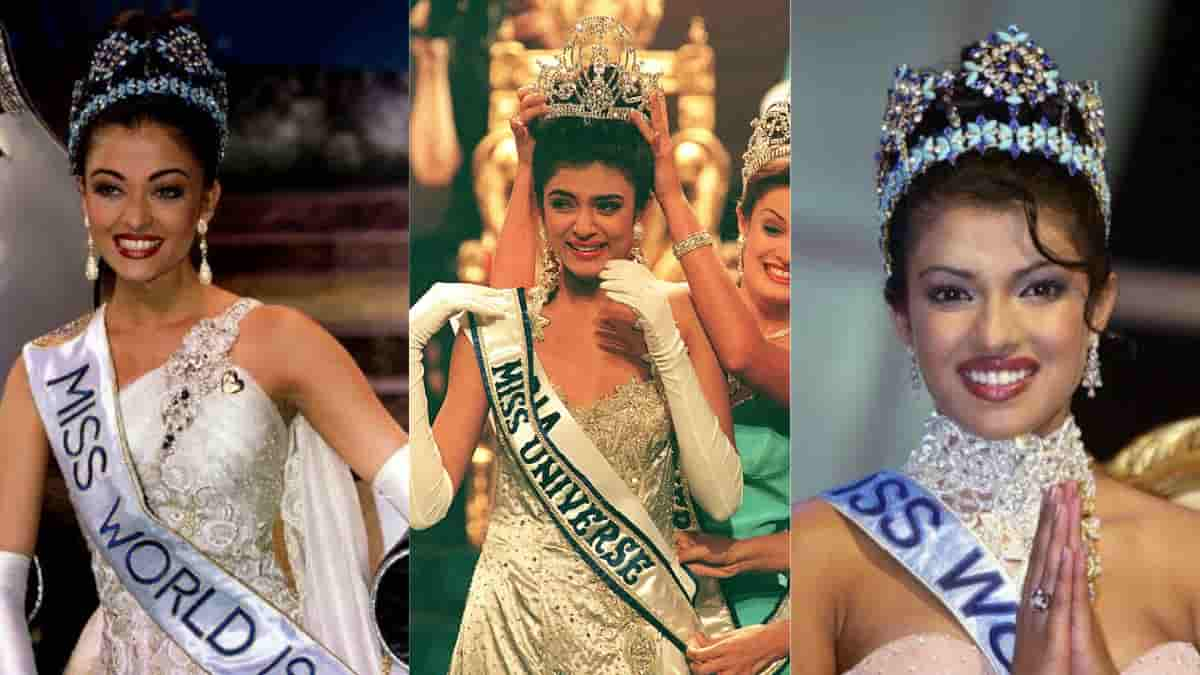 Bollywood beauties who won Miss World and Miss India titles