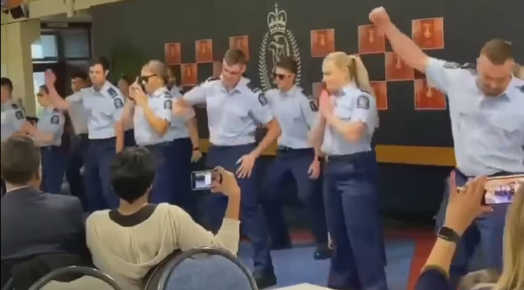 New Zealand police seen dancing on Bollywood songs