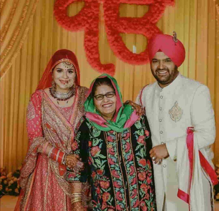 kapil sharma's wedding picture