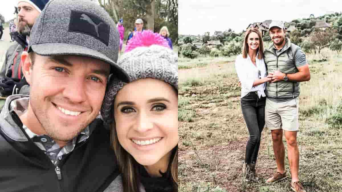AB de Villiers and Danielle de Villiers became third time parents