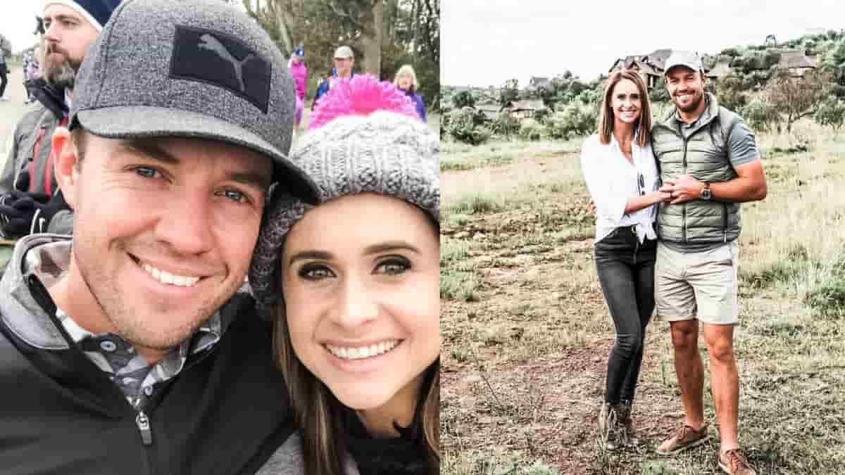 AB de Villiers and Danielle de Villiers became third time parents