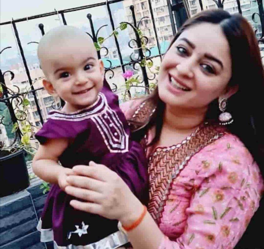 Tara jay bhanushali's look after her Mundan