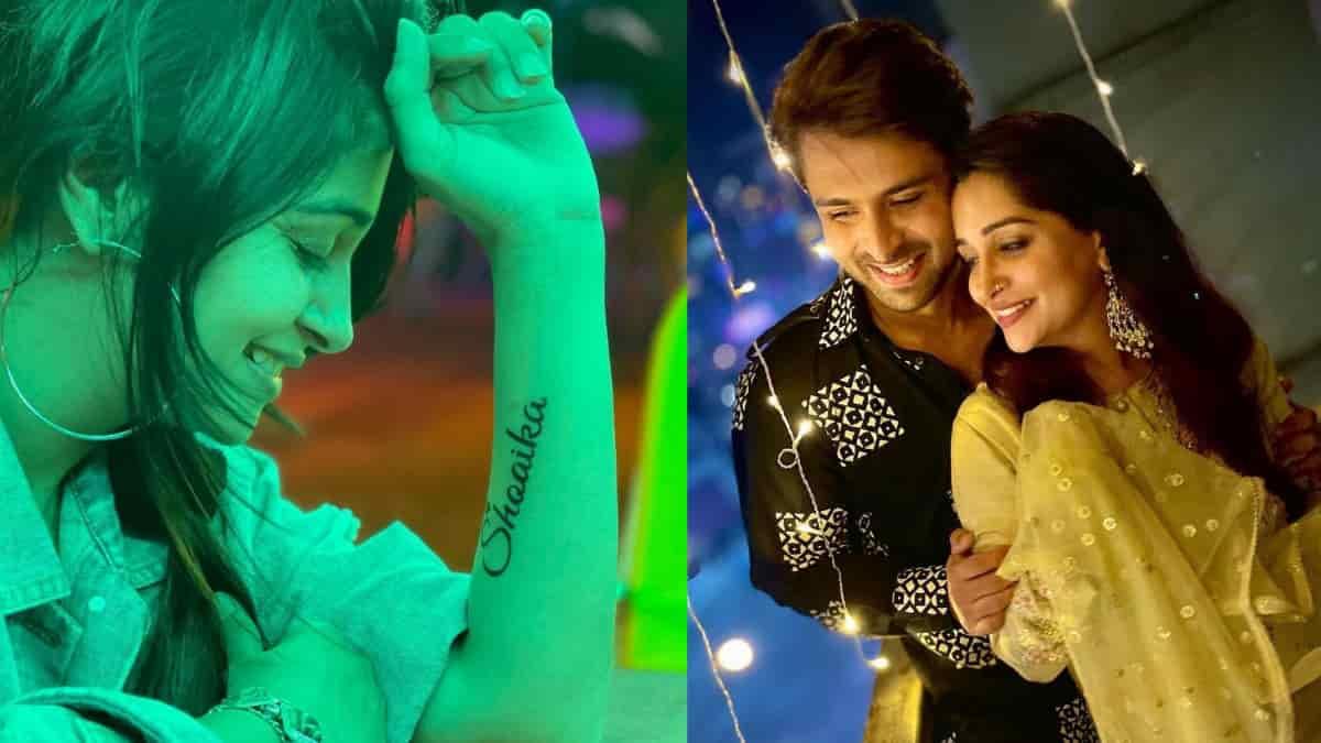 Deepika Kakkar Ibrahim get Shoaika's name tattoo
