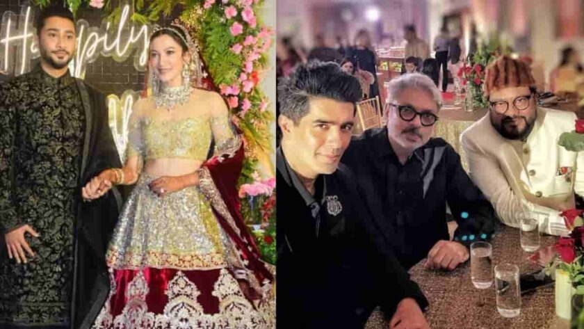 Gauhar Khan and Zaid Darbar's Reception