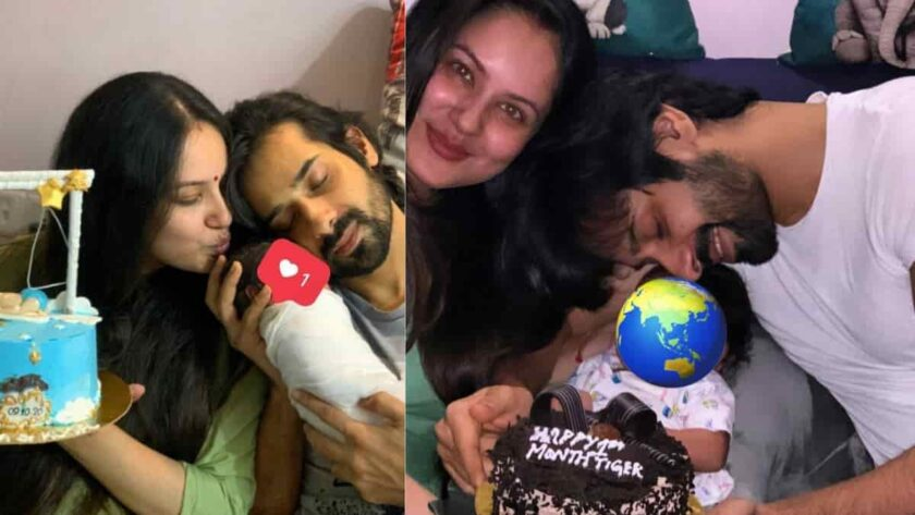 Actress Puja Banerjee And Kunal Verma Hosted A Grand Naamkaran function For Their Baby Boy