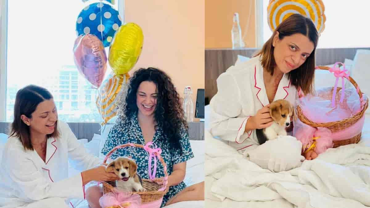 Kangana Ranaut gave a special gift to her sister Rangoli Chandel on her birthday