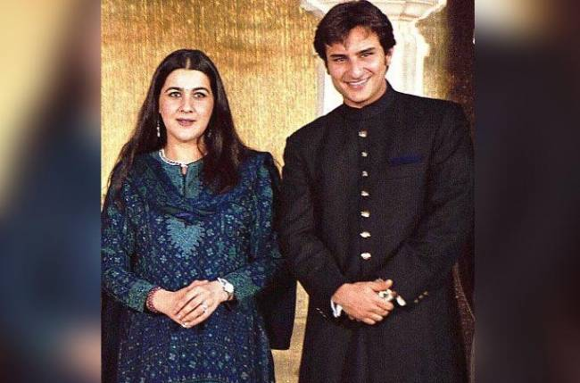 Amrita Singh changed her religion for marriage