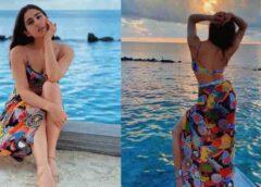 मालदीव में छुट्टियां मना रही सारा अली खान, तस्वीरें हो रही वायरल