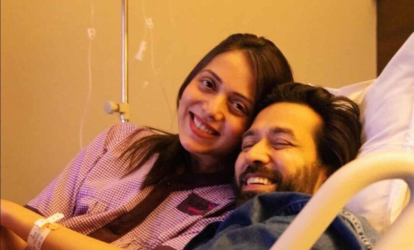 Nakuul Mehta and Jankee Parekh