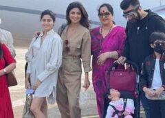 शिल्पा शेट्टी की एक साल की बेटी समेत पूरा परिवार आया कोरोना की चपेट में