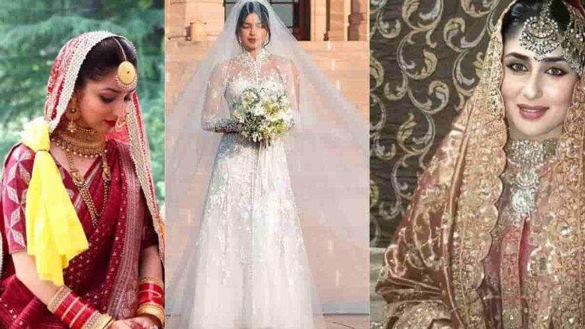 Bollywood actress wedding traditional look