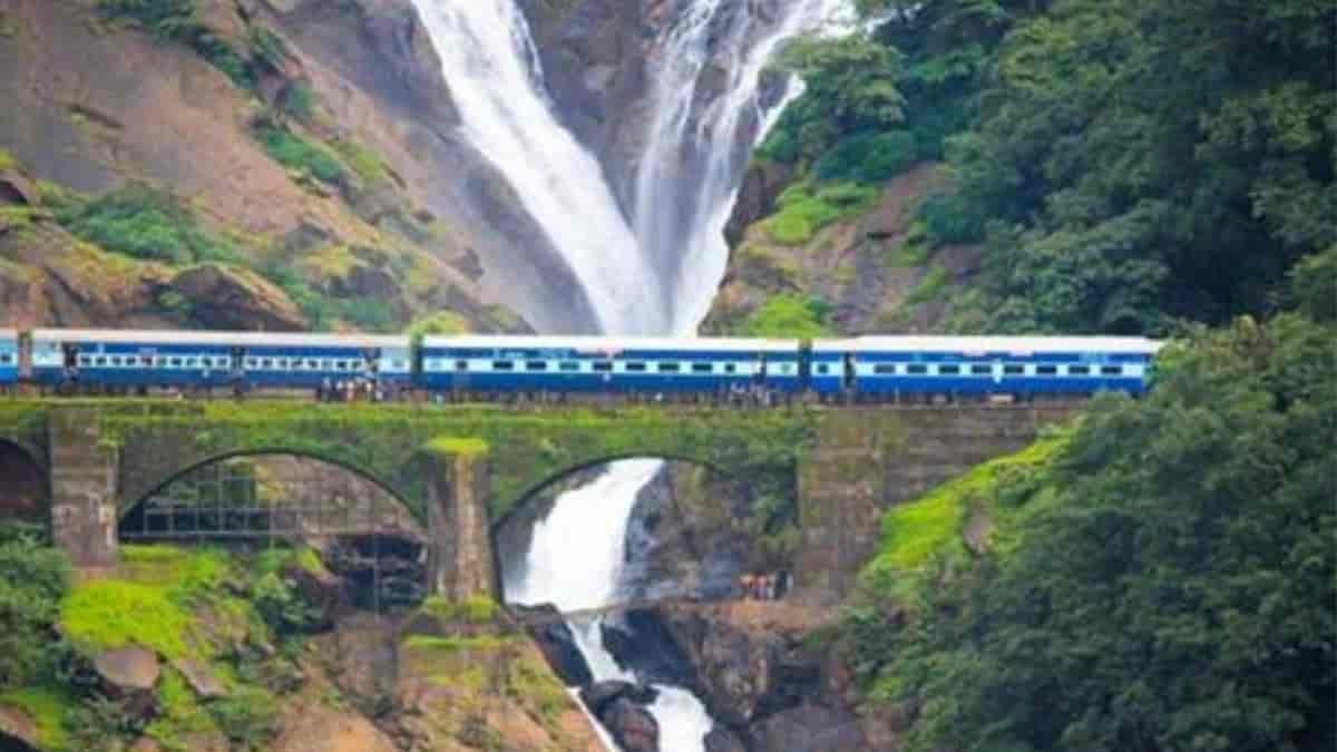 Beautiful train routes of India