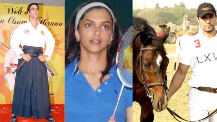Bollywood celebs professional players