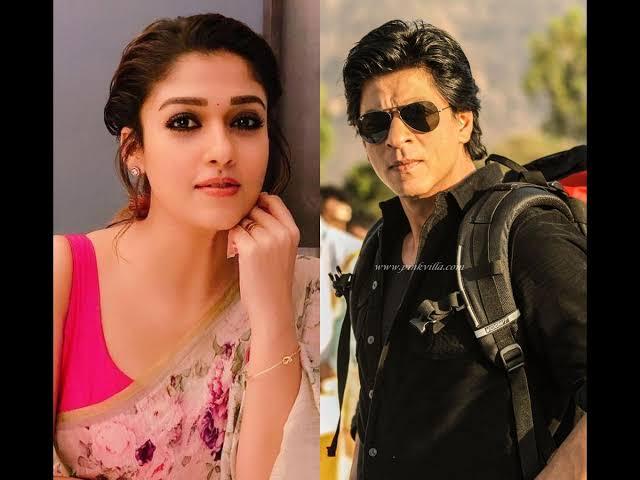Nayanthara and Shah Rukh Khan (2)