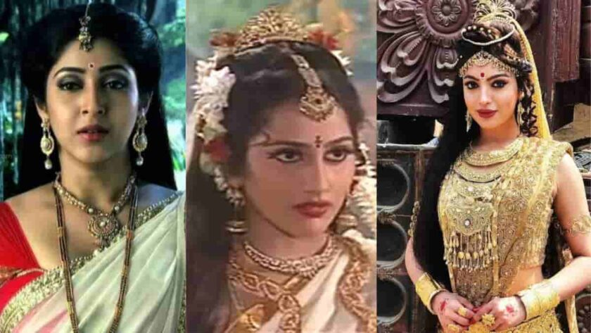 Tv actresses played the role of Parvati
