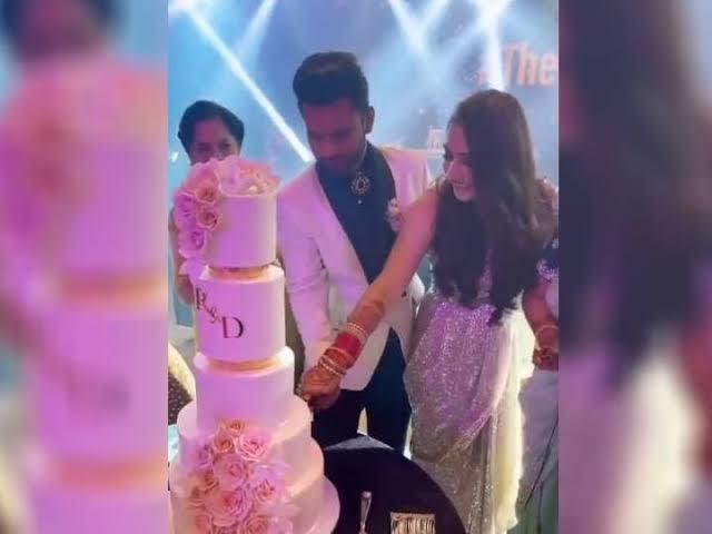Dishul reception cake