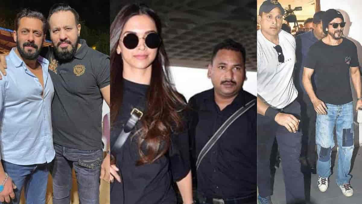Bollywood celebs bodyguard