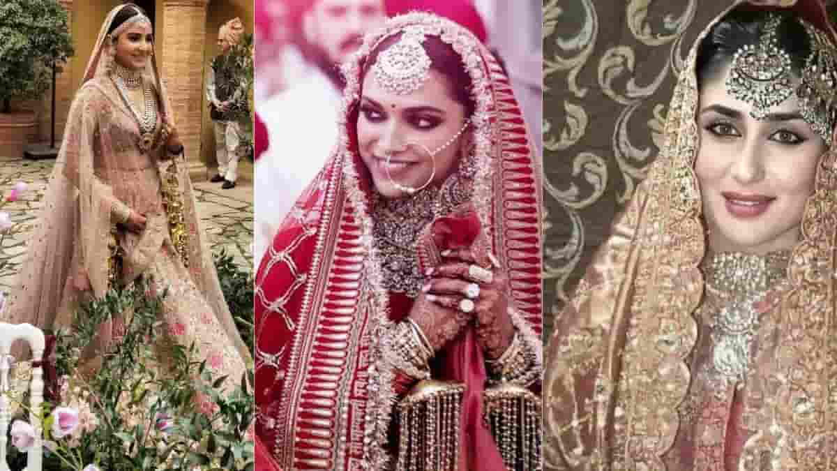 Bollywood Actress Wedding Lehnga