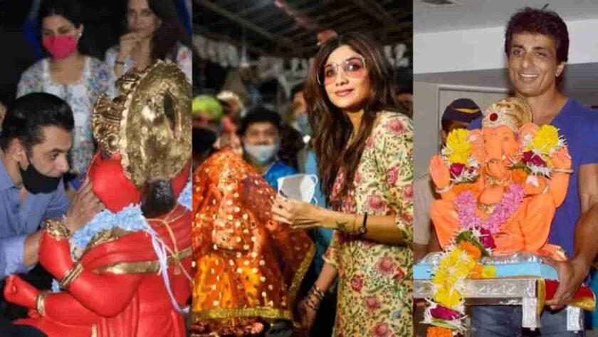Bollywood ganesh chaturthi celebration