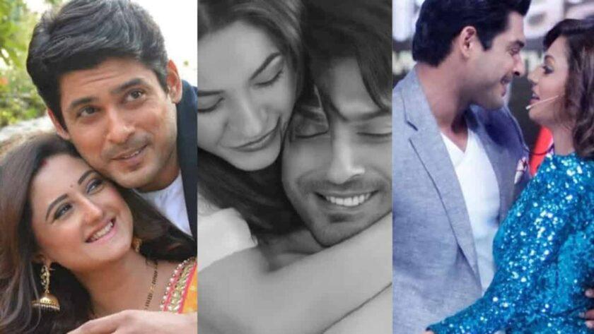 Sidharth shukla's love affair