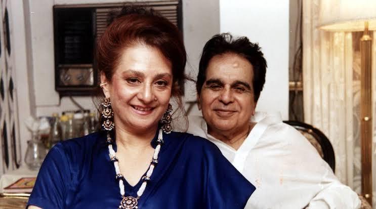 Dilip Kumar and Saira Banu